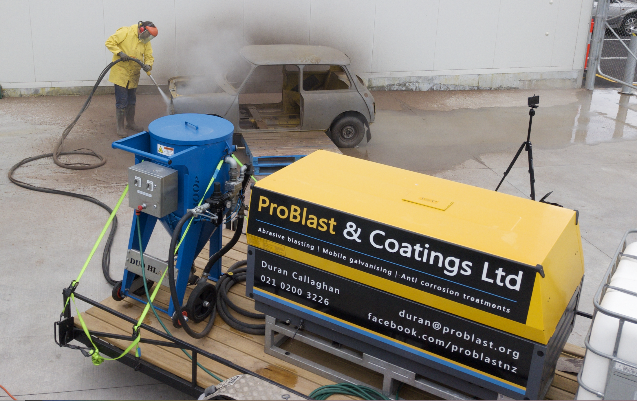 Problast Coatings Anti Corrosion Treatments